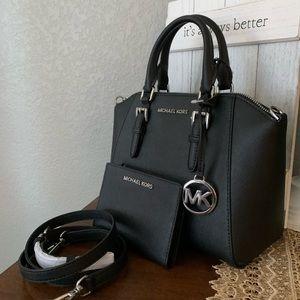 New MK Ciara bag and wallet 🖤